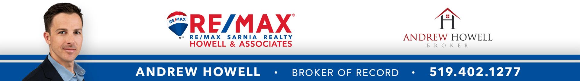 Andrew Howell – ReMax Sarnia Realty – Howell & Associates  Logo
